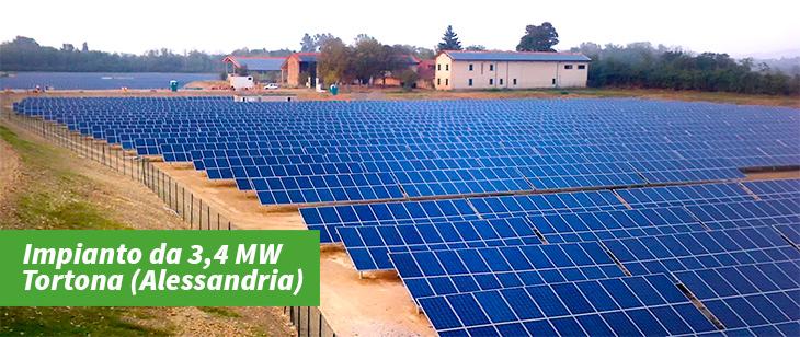 Impianto Fotovoltaico 3,4 MW